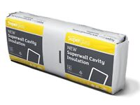 Superwall insulation 100mm 70 of a pack of 6