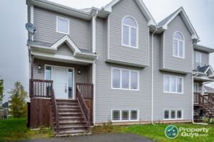 3 fully finished levels, 4 bedrooms & 2 bath semi. Move in ready