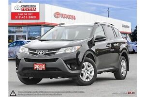 2014 Toyota RAV4 LE One Owner, No Accidents, Toyota Serviced London Ontario image 1