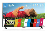LG 47INCH 55INCH 60INCHES SMART 120HZ LED TV'S---NO TAX