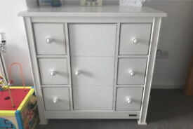 Mamas and papas chest of drawers with mini wardrobe