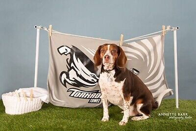 Remove Pet Hair from Clothes in Dryer with Laundry w/ the NEW TORNADO TOWEL!