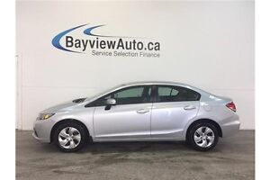2015 Honda CIVIC LX- 1.8L! HEATED SEATS! REVERSE CAM! BLUETOOTH!