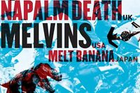 ***NAPALM DEATH ET THE MELVINS CLUB SODA 17 AVRIL 2016