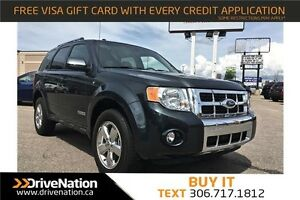 2008 Ford Escape Limited LIMITED, LEATHER, LOADED!