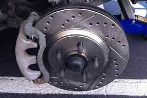 G35 , G37 , Q50 Slotted Drilled Brakes with Rotors and Pads