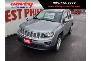 2015 Jeep Compass Sport/North 4X4, ALLOY WHEELS, CRUISE CONTROL
