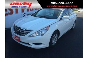 2011 Hyundai Sonata GL HEATED SEATS, BLUETOOTH, MP3 INPUT