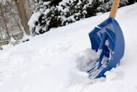 Snow Shoveling Available