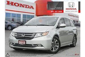 2015 Honda Odyssey Touring GPS NAVIGATION | DVD ENTERTAINMENT... Cambridge Kitchener Area image 1