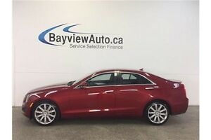 2014 Cadillac ATS LUXURY- 2L TURBO! PANOROOF! LEATHER! NAV!