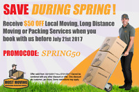 Most Moving Inc. Burlington's Most Trusted Movers 1-800-933-9271