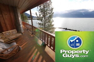 One-of-a-kind 3 level home on waterfront property Creston 197942