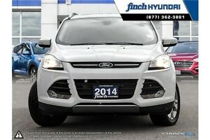 2014 Ford Escape Titanium Platinum Model | All Wheel Drive |... London Ontario image 2