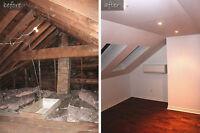 Rénovations: toutes les rénovations domiciliaires