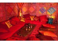 Moroccan designer plastic rugs