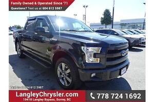 2015 Ford F-150 Lariat w/Navigation, Leather Int. & Sunroof