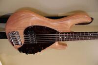 MusicMan StingRay 5 Bass - Natural finish