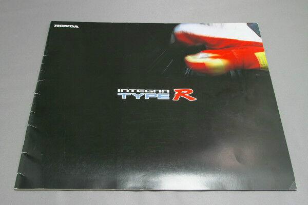 HONDA INTEGRA Type-R Japanese Brochure 1997 Prospekt DC2