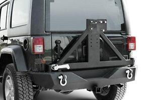 Pare Choc Arrière Jeep Wrangler JK Tire Carrier Paramount Rear Bumper