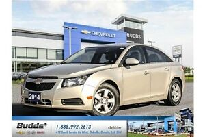2014 Chevrolet Cruze 2LT Safety and E-Tested