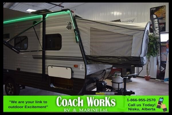 2019 FOREST RIVER VIKING 16RBD ONLY USED A COUPLE OF TIMES ...