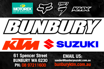 BUNBURY SUZUKI TWO & FOUR WHEEL AGRICULTURAL RANGE