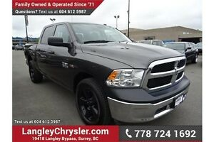 2015 RAM 1500 ST w/Leather Interior & Safety Rear Camera