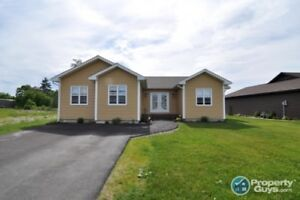 One level living in great newer subdivision with 1852 sf