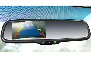 "Backup Camera with OEM style 4.3"" LCD Mirror"