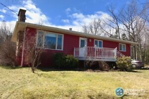 4 bed in quiet location, over 1900 sf with room to expand