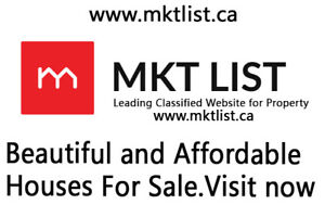 Mississauga three Bed Room House For Sale