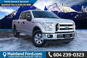 2016 Ford F-150 XLT 1 OWNER, NO ACCIDENTS, LOCALLY DRIVEN