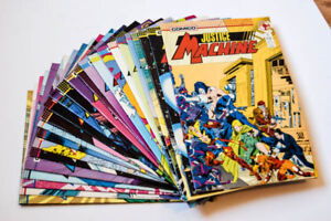 Justice Machine #1-25 in EXCELLENT Condition
