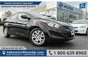 2016 Hyundai Elantra GL LOCALLY OWNED & ACCIDENT FREE