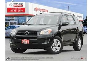 2011 Toyota RAV4 Base Competition Certified, One Owner, No Ac...