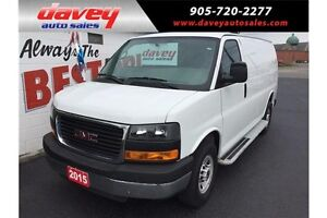 2015 GMC Savana 2500 1WT AIR CONDITIONING, POWER WINDOWS AND...