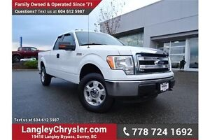 2013 Ford F-150 XLT W/ TOW PACKAGE & MICROSOFT SYNC BLUETOOTH