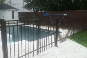 Clôture piscine,Clôture,Clôture verre,Hybride,Ornementale,Fence