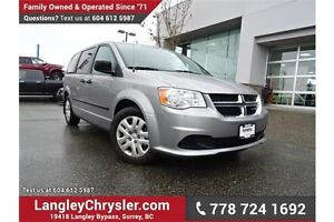 2016 Dodge Grand Caravan SE/SXT X-DEMO, LOCALLY DRIVEN & ACCI...