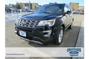 2016 Ford Explorer Limited Low kms, Clean CarProof, loaded Li...