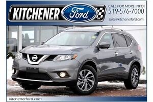 2016 Nissan Rogue SL Premium SL/AWD/PANO ROOF/ROOF RACK/CAMER...