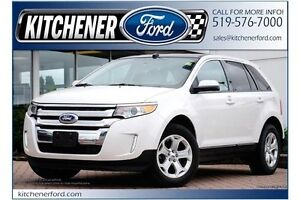 2013 Ford Edge SEL SEL/AWD/LEATHER/V6/PANO ROOF/CAMERA/PLATINUM Kitchener / Waterloo Kitchener Area image 1