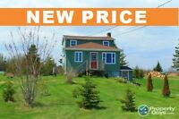 NEW PRICE! Updated 1.5 storey, unfinished bsmt, new electrical.