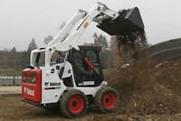 Bobcat Services with Operator