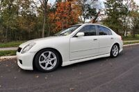 Very clean White G35 05 for sale