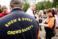 Licenced security available for events