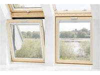 2 Velux (vertical) windows (VFE MK31 3060 x 2) and flashings(EDZ CK04 0000) (Retail £410each!)