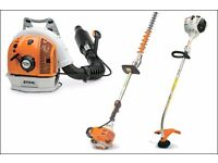stihl tools wanted, hedge cutters chainsaws blowers strimmers hayter & honda mowers. Cash waiting