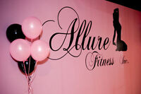 Explore Pole Fitness at Allure Fitness Inc.!